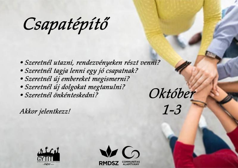 GYTIT ifjúsági csapatépítő