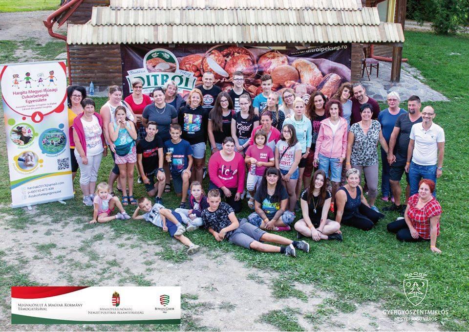 Hargita megyei ifjúsági cukorbetegek tábora