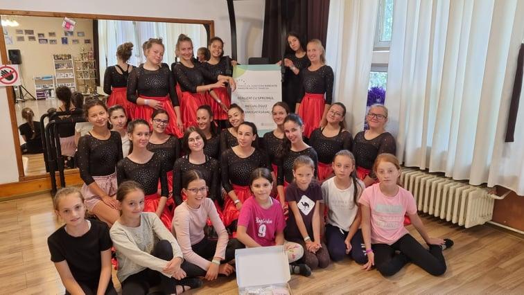 Versenyfelkészítő a Step Dance Sportklubnál